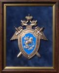 Плакетка с эмблемой Следственного комитета РФ