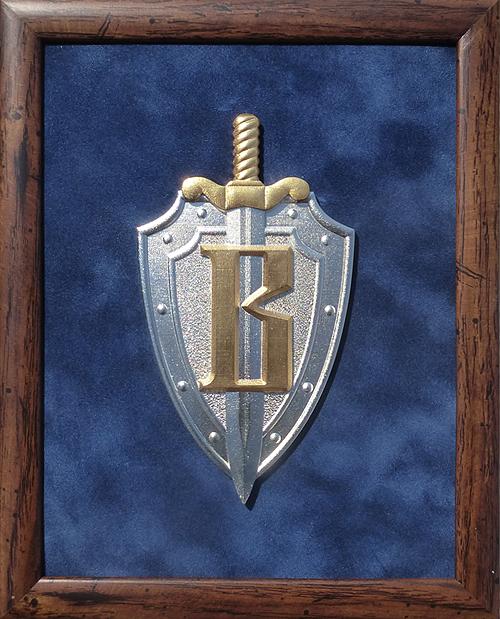 Плакетка с эмблемой Вымпел