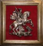 Плакетка с гербом Москвы