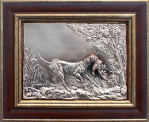 "Картина ""Собака с тетеревом"""