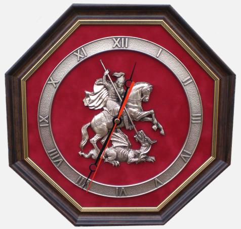 Настенные часы с гербом Москвы