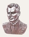 Рельефный портрет Титов Г.С.