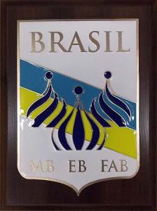 """Эмблема """"BRASIL"""""""