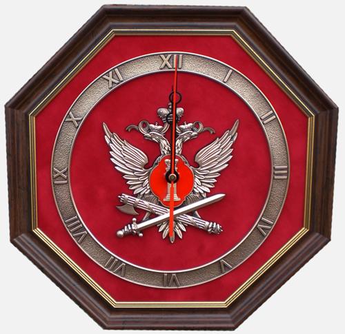 Настенные часы с эмблемой ФСИН РФ