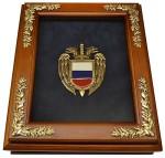 Деревянная ключница с эмблемой ФСО