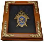 Деревянная Ключница с эмблемой Следственного комитета