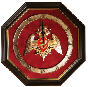 "Часы-эмблема ""Национальная Гвардия"""