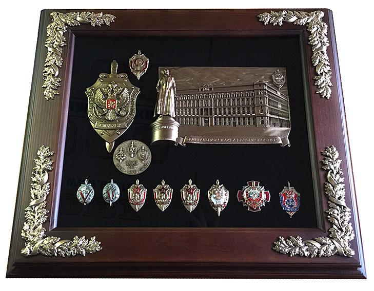 """Панно """" Здание 100 лет, ФСБ"""""""