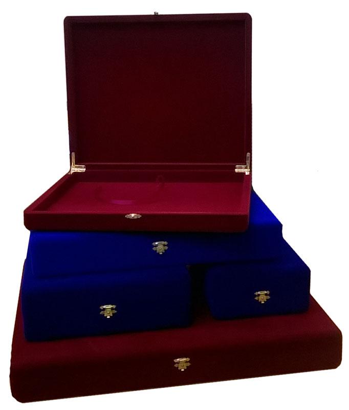 Флокированная подарочная коробка