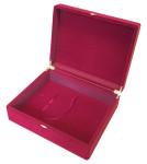 Флокированная подарочная коробка для ключниц 26 х 21 см