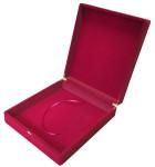 Флокированная подарочная коробка для ключниц 29 х 34 см