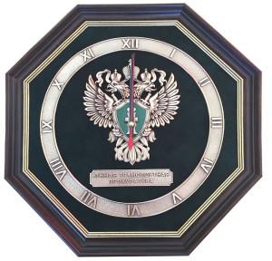 """Часы-эмблема """"Южная транспортная прокуратура"""""""
