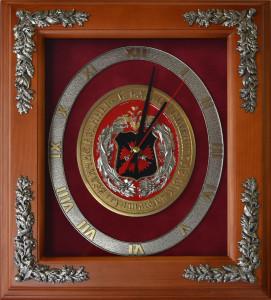 """Настенные часы """"100 лет ГРУ"""""""