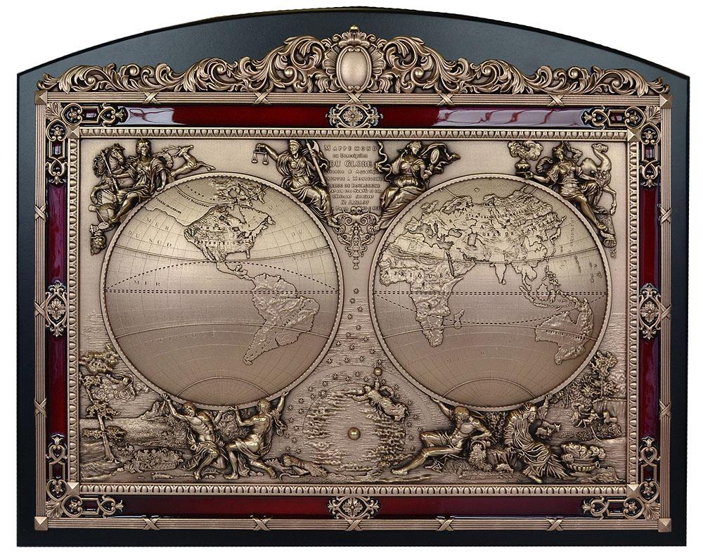 """Панно """"Карта мира"""""""