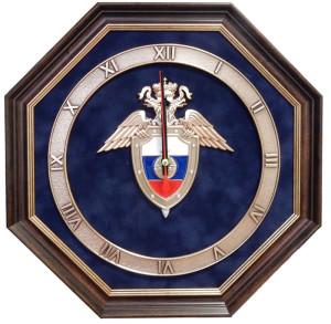 Часы - эмблема
