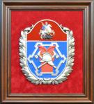 """Эмблема """"Департамента по делам гражданской обороны и пожарной безопасности города Москвы"""""""