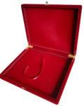 Флокированная подарочная коробка для плакеток 21 х 26 х 4 см (вертикальная/горизонтальная)